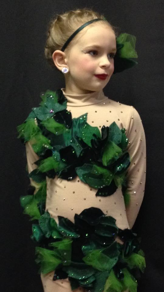 Heidi's Poison Ivy Costume